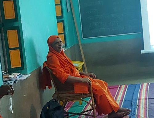 Personal Sanskrit Companion (PSC) demo in Kailasa Ashram